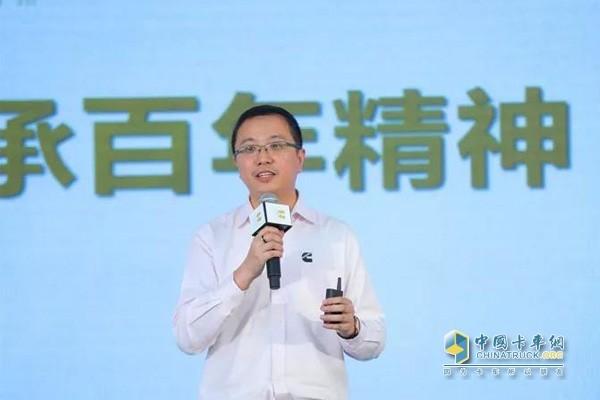 康明斯中国区车联网与数字业务总经理唐浩诚