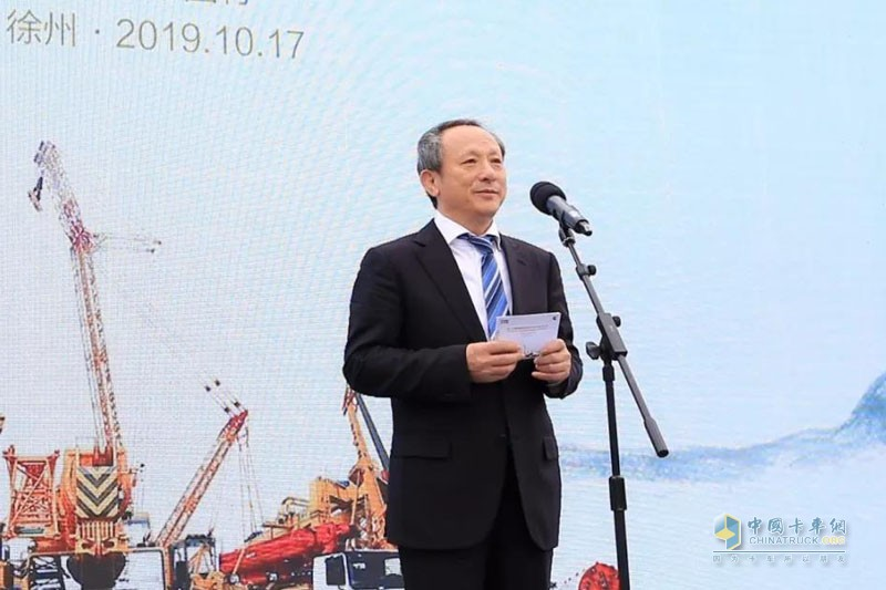 徐工集团工程机械有限公司董事长、党委书记王民
