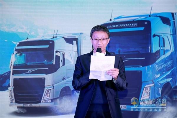 黑龙江省物流与采购联合会秘书长、哈尔滨市物流协会秘书长张雪峰