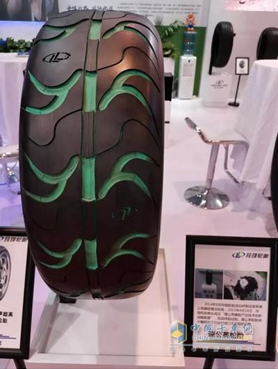 玲珑轮胎自主研发的蒲公英橡胶轮胎