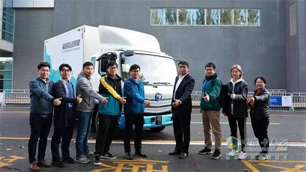 福田汽车AEBS测试赛众人点赞福田汽车自动驾驶产品