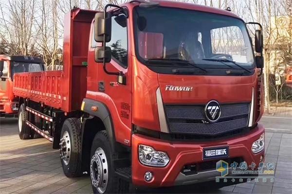 福田瑞沃ES5 6X2三轴自卸车