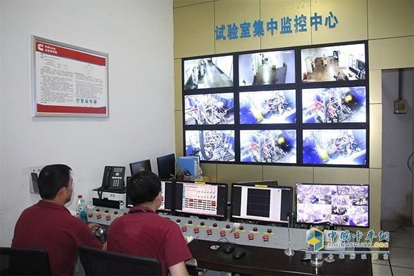 安康试验室集中监控中心