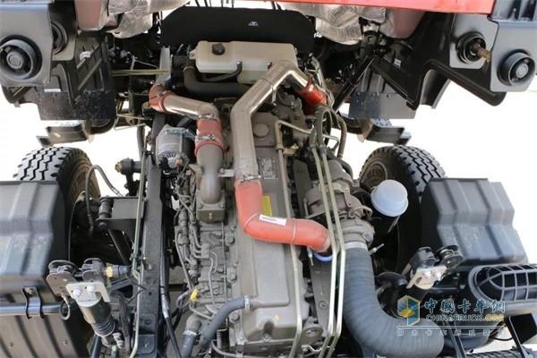 福田瑞沃装配玉柴6.5L 动力更强载重更高