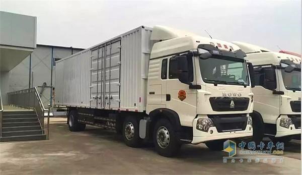 中国重汽豪沃T5G