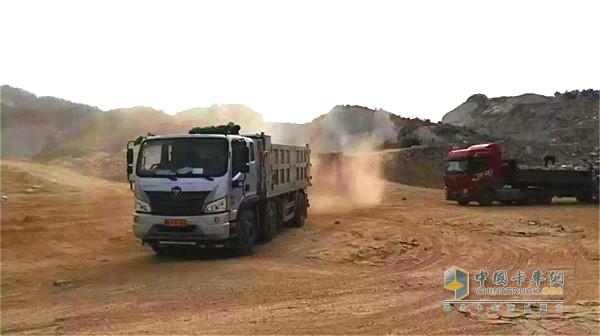 福田瑞沃ES3自卸车品质卓越