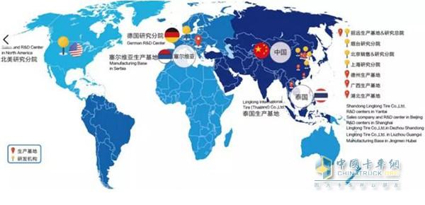 玲珑轮胎全球销售网络