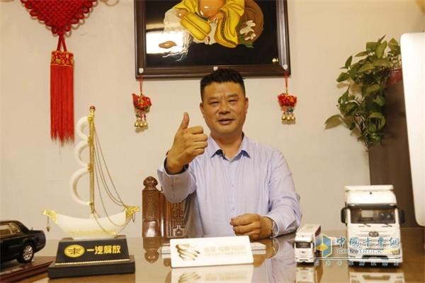 一汽解放郑州坤乾道通物流有限公司董事长耿开学