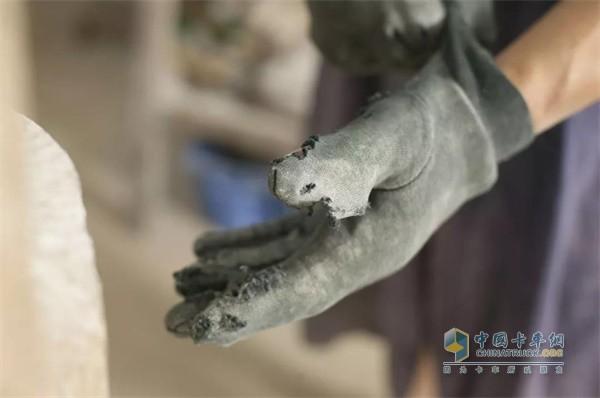 检修时注意手套