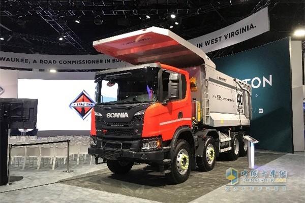 斯堪尼亚重型非道路卡车