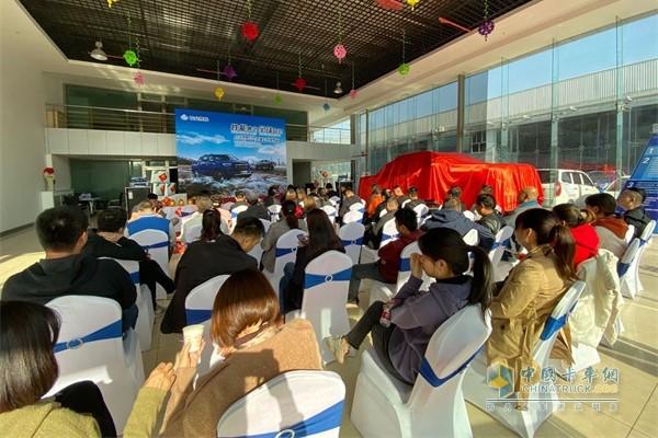 乌鲁木齐地区的一级经销商新疆恒信工贸店同步举行上市发布会