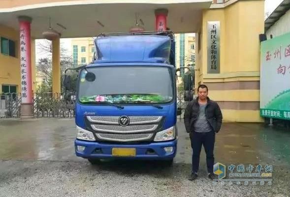 陈师傅与他的欧马可S3超级卡车