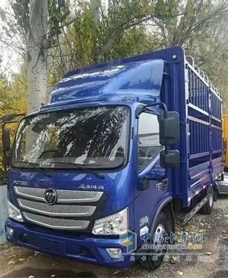 欧马可S3超级卡车搭载康明斯超级动力