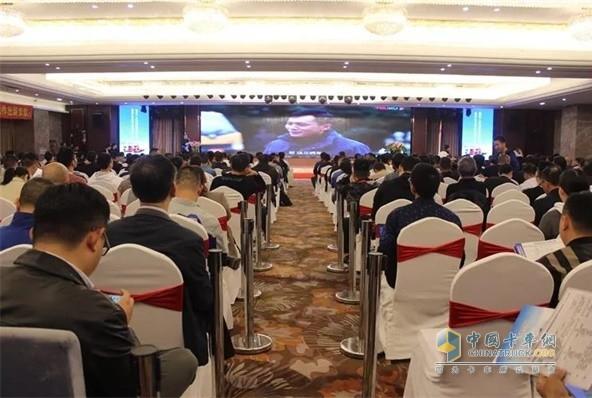 陕汽重卡上海市国三柴油集卡限行及提前报废补贴政策宣贯会现场