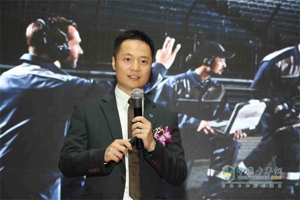 沃尔沃卡车中国零售运营发展总监李雪峰