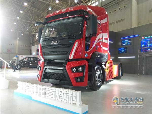 威龙氢燃料牵引车