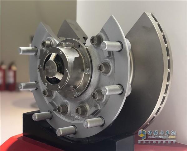 5.5吨盘式铸铁前轮毂
