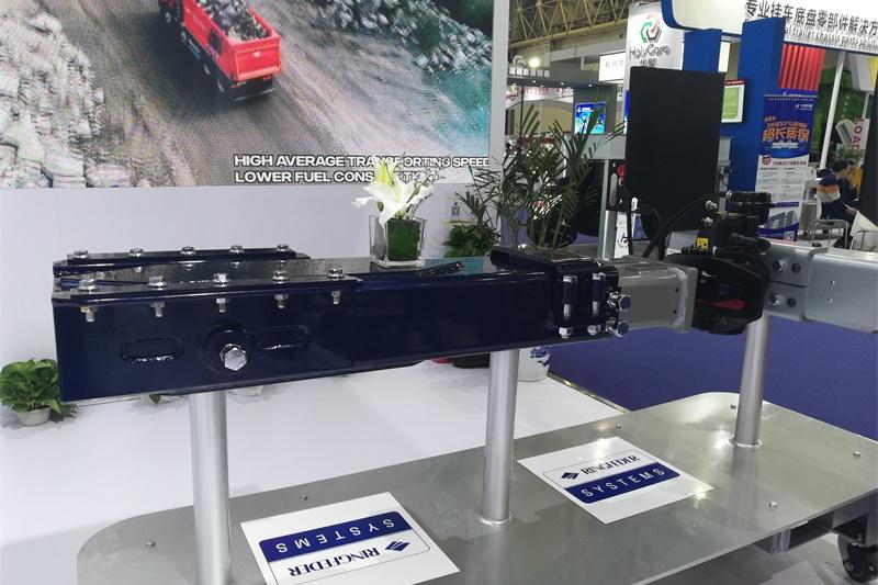 2-中置轴车辆牵引连接系统