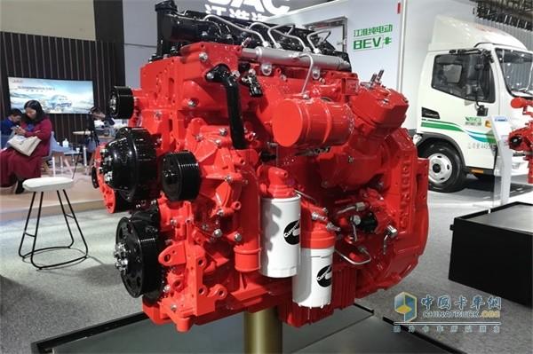 安徽康明斯B4.0系列国六柴油发动机
