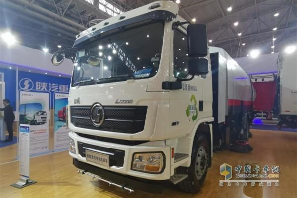 陕汽L3000纯电动环卫车