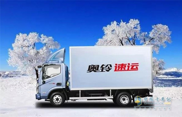 奥铃速运寒区版标配1800Ah低温蓄电池