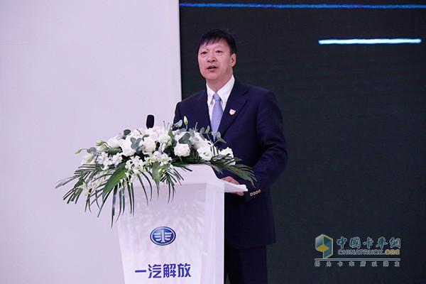 一汽解放质量保证部 部长兼商用车开发院 副院长 张宝林