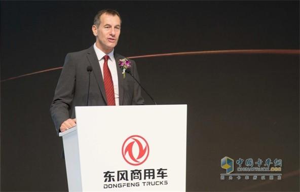 东风商用车有限公司副总经理司徒先生发表获奖感言