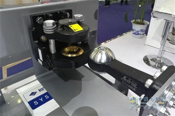球型牵引耦合器