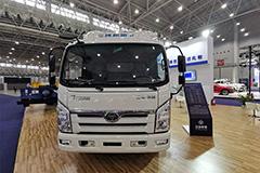 [武汉车展]新氢卡+集装箱无人转运车 三环展行业领先技术