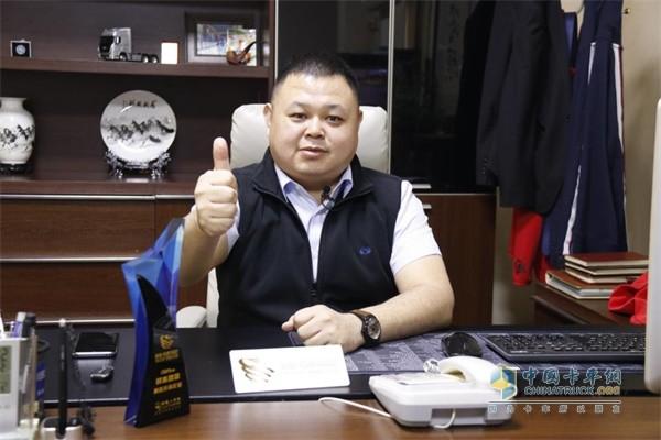 四川现代天津开创物流有限公司总经理李海东
