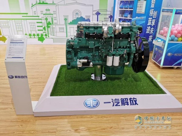 解放动力铂威CA4DK发动机
