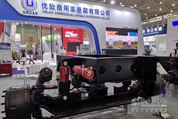 优软商用车悬架亮相中国国际商用车展