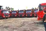 轩德6系8×4自卸车批量交付惠州,优秀品质赢得用户信赖!