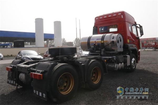 气耗低、故障少是大家对重汽豪瀚燃气车的评价