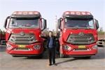 【发现信赖】气耗28kg/100km 建邦物流用70台重汽豪瀚燃气车实力代言