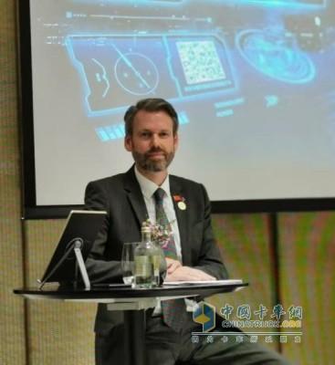 戴姆勒卡客车(中国)有限公司首席执行官科锐铭(Ralf Kraemer)
