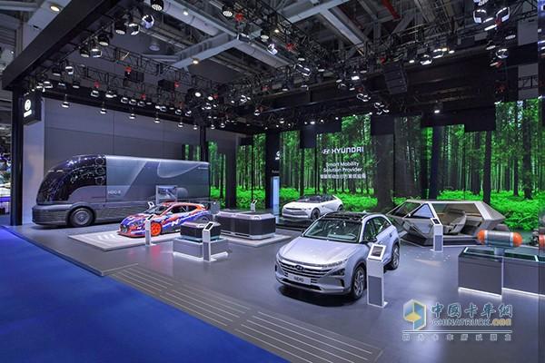 中国国际进口博览会现代展位