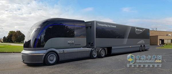 全功率氢燃料电池卡车