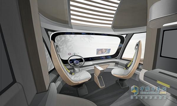 personal Studio圆形温室形态的驾驶室设计