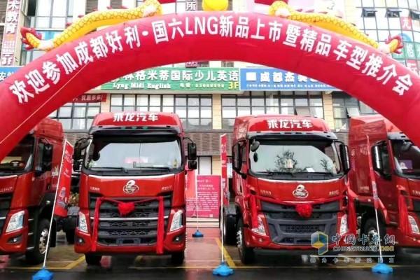 装配玉柴YCK13N的东风柳汽乘龙H7产品上市