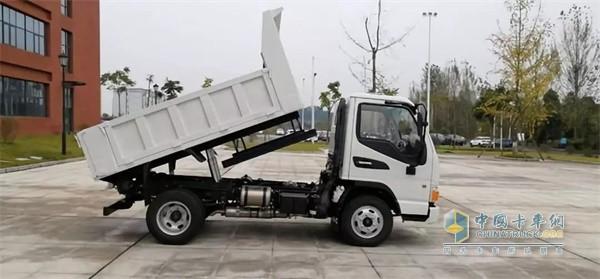 江淮D6177小轴距工程车承载能力强