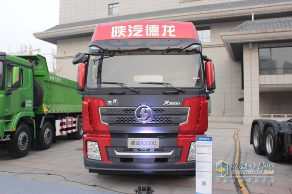 陕汽德龙X3000 4×2牵引车