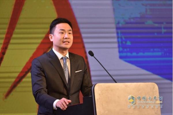 壳牌(中国)有限公司润滑油业务OEM销售总经理张颢磊致辞