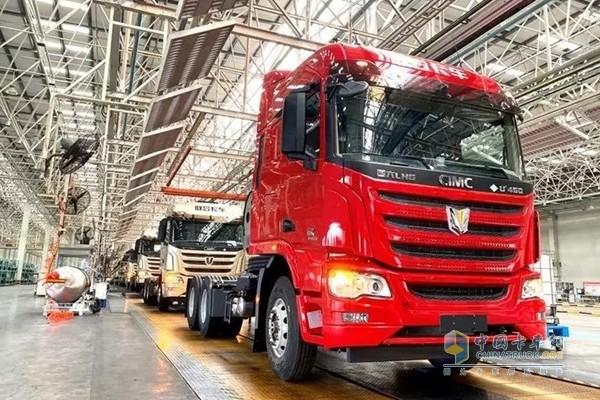 征服楠哥的联合卡车国六燃气车型