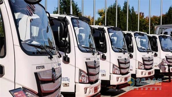 欧马可超级卡车国典款高效动力
