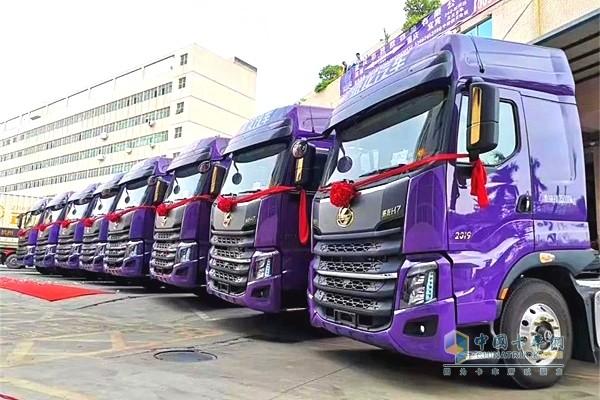 乘龙中通紫