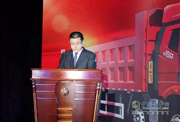 一汽解放汽车有限公司产品管理部自卸品系高级经理赵晓光先生