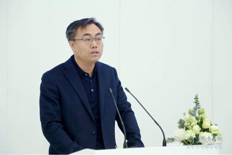 北京市科学技术委员会副主任许心超致辞
