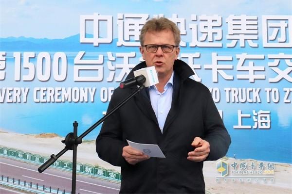 沃尔沃卡车全球总裁Roger Alm