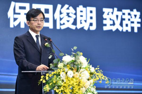 广汽日野汽车有限公司总经理保田俊朗
